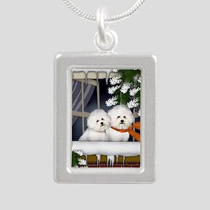 WW BF Silver Portrait Necklace