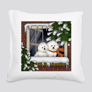 WW BF Square Canvas Pillow