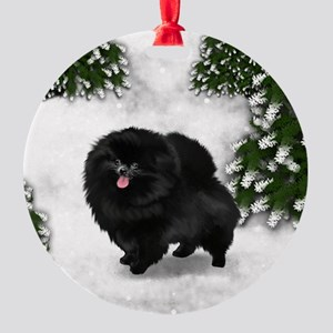 SF bpom Round Ornament