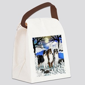 FROZENLAKE asd Canvas Lunch Bag