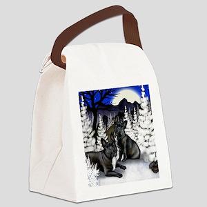 WM FB Canvas Lunch Bag