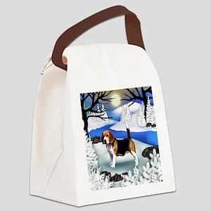 fr beagle Canvas Lunch Bag