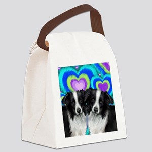 love bc Canvas Lunch Bag