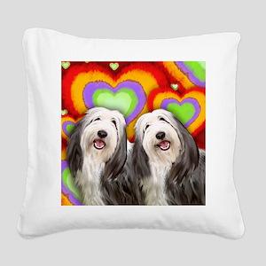 LOVE BCOL Square Canvas Pillow