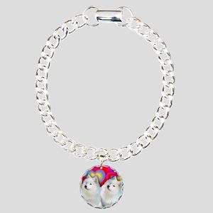 love sam Charm Bracelet, One Charm
