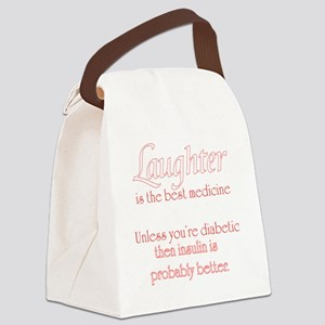 Laughter Canvas Lunch Bag