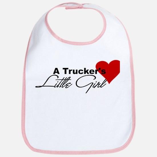 Trucker's Little Girl Bib