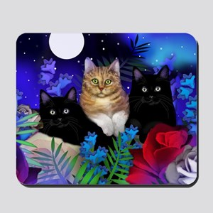 print cats Mousepad