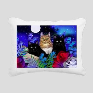 print cats Rectangular Canvas Pillow