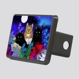 print cats Rectangular Hitch Cover