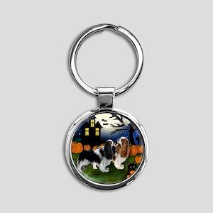 halp ckcs Round Keychain