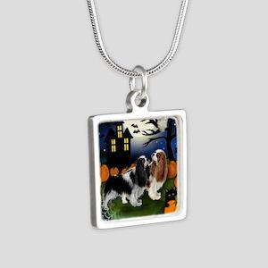 halp ckcs Silver Square Necklace