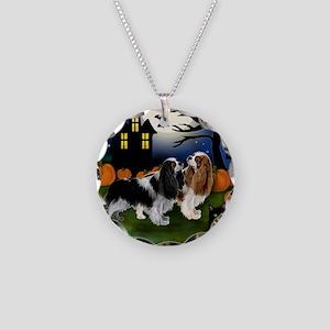 halp ckcs Necklace Circle Charm