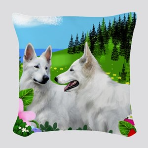 wgs m copy Woven Throw Pillow