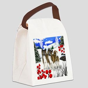 wb akita Canvas Lunch Bag