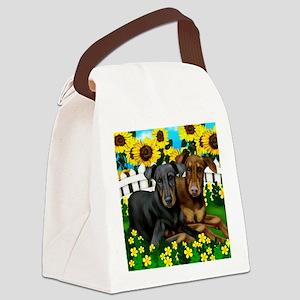 3-dobie copy Canvas Lunch Bag