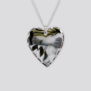 orn 3 Necklace Heart Charm