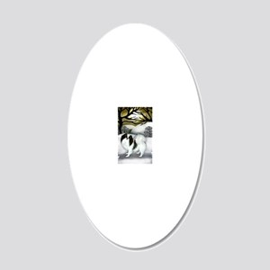 orn 3 20x12 Oval Wall Decal