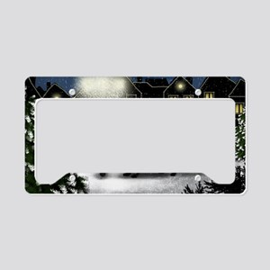 snowtown fcr License Plate Holder