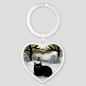 ws bc Heart Keychain