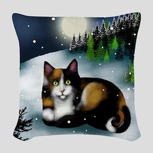tote1 Woven Throw Pillow