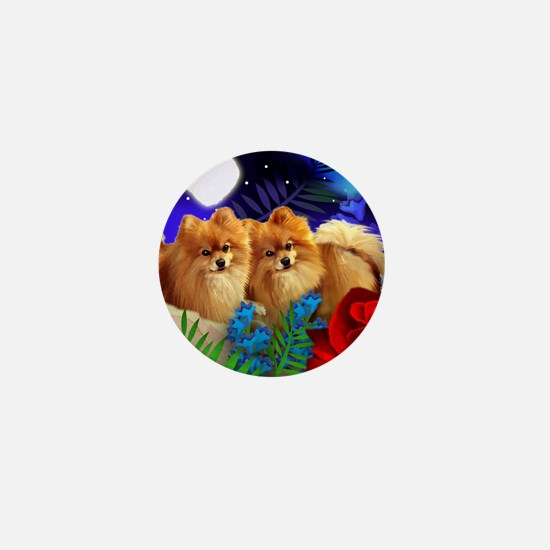 pom ln Mini Button