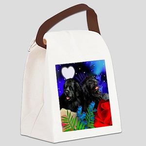 newf ln Canvas Lunch Bag
