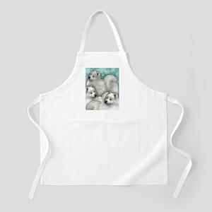 samoyed dogs Apron