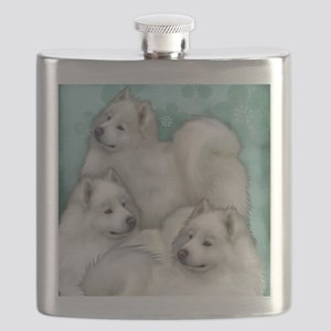 samoyed dogs Flask