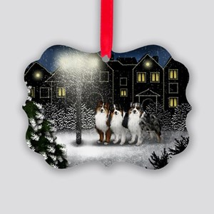 snowtown as Picture Ornament