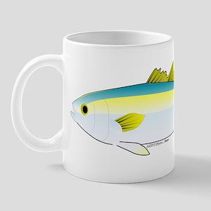 California Yellowtail fish Mug