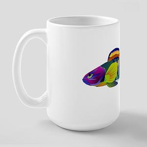 Orangethroat Darter v2 Large Mug