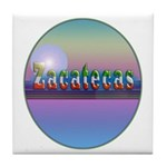 Zacatecas Tile Coaster