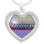 Zacatecas Silver Heart Necklace