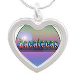 Zacatecas Silver Heart Necklace