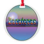 Zacatecas Round Ornament