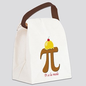 Pi a la mode Canvas Lunch Bag