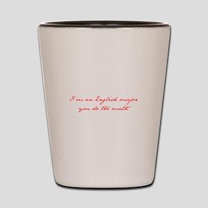 Im-an-english-major-jane-red Shot Glass