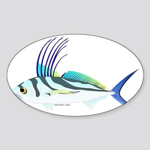 Roosterfish CC Sticker (Oval)