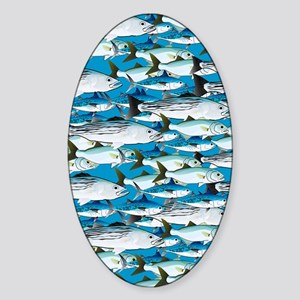 Atlantic mtk pt Surf School of Atta Sticker (Oval)