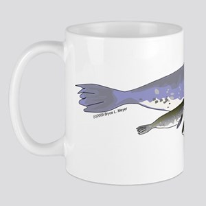 Leopard Seal Mom and baby t Mug