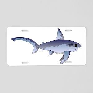 Thresher Shark t Aluminum License Plate