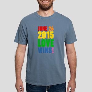 June 26 2016 Love Wins Mens Comfort Colors Shirt