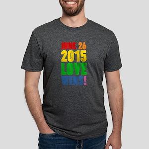 June 26 2016 Love Wins Mens Tri-blend T-Shirt