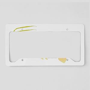 Sand Flea Mole Shrimp t License Plate Holder