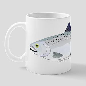 Chinook King Salmon f Mug