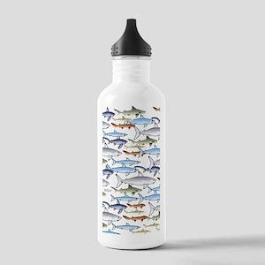 School of Sharks n Stainless Water Bottle 1.0L