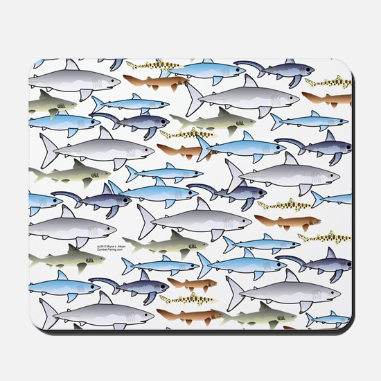 School of Sharks t Mousepad