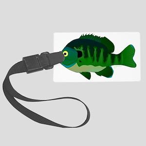 Bluegill Sunfish aT Large Luggage Tag