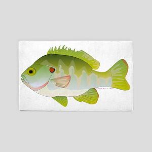 Redear Sunfish T 3'x5' Area Rug